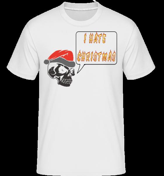 I Hate Christmas -  Shirtinator Men's T-Shirt - White - Vorn