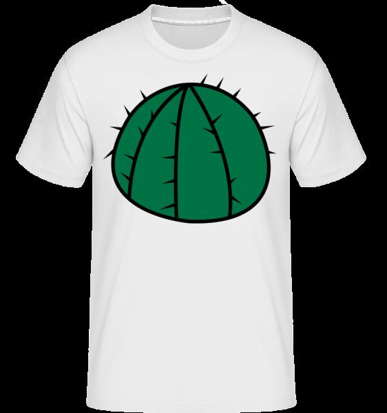 Cactus Comic -  Shirtinator Men's T-Shirt - White - Vorn