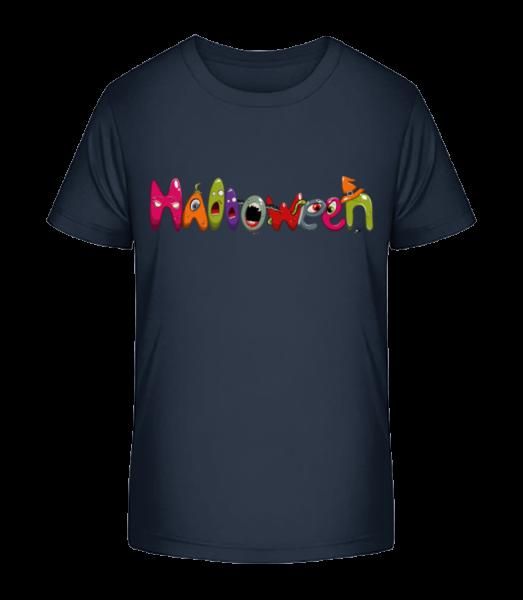 Halloween - Kid's Premium Bio T-Shirt - Navy - Vorn