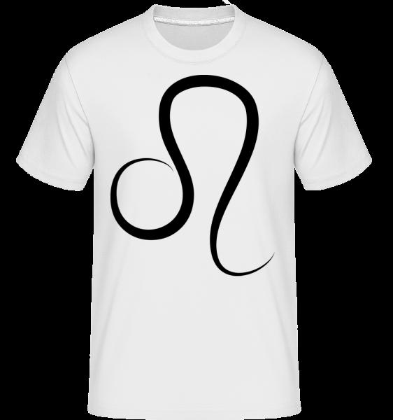 Leo Sign -  Shirtinator Men's T-Shirt - White - Vorn