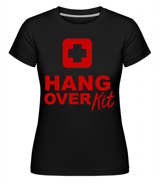 Hangover Kit - Shirtinator Women's T-Shirt - Black - Vorn