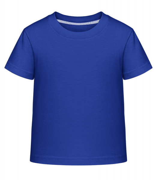 Kid's Shirtinator T-Shirt - Royal blue - Vorn