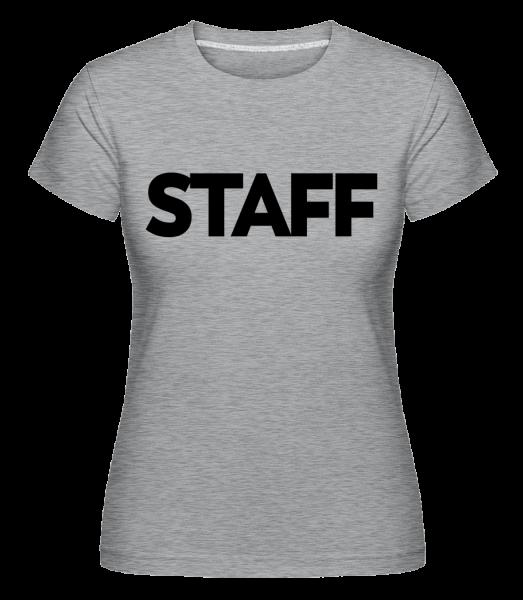 Staff -  Shirtinator Women's T-Shirt - Heather grey - Vorn