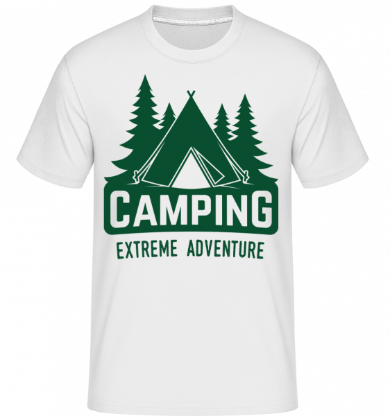 Camping Extreme Adventure - Shirtinator Men's T-Shirt - White - Vorn