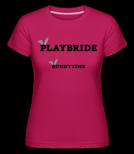 Bridebunny Bunnytime -  Shirtinator Women's T-Shirt - Magenta - Vorn