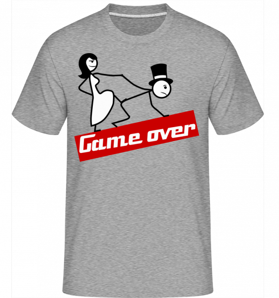 Game Over -  Shirtinator Men's T-Shirt - Heather grey - Vorn