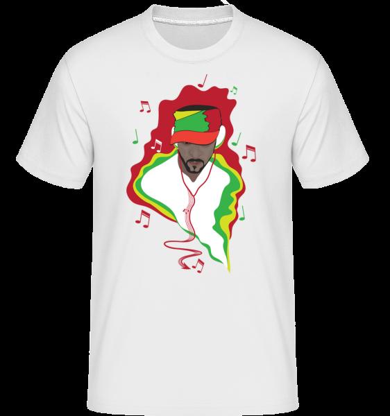 Music DJ -  Shirtinator Men's T-Shirt - White - Vorn