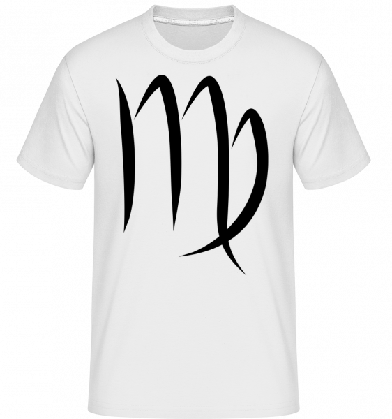 Virgo Sign - Shirtinator Men's T-Shirt - White - Vorn