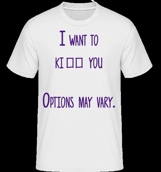 Options May Vary -  Shirtinator Men's T-Shirt - White - Vorn