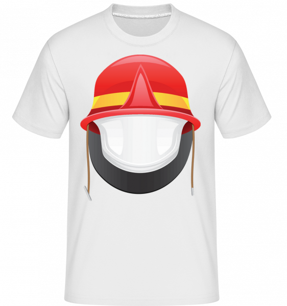 Fire Protection Symbol - Shirtinator Men's T-Shirt - White - Vorn