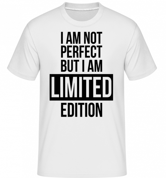I'm Limited Edition -  Shirtinator Men's T-Shirt - White - Vorn