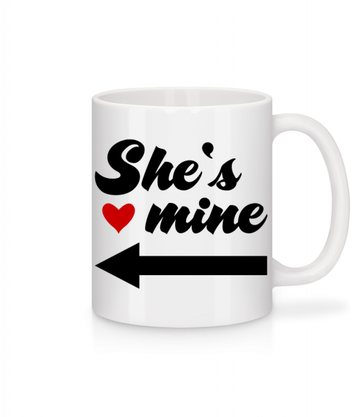 She Is Mine - Mug - White - Vorn