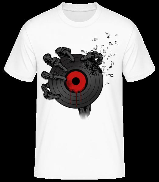 Record Of Death - Men's Basic T-Shirt - White - Vorn