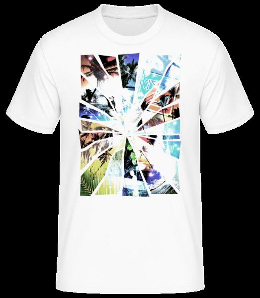 Holiday Splinter - Men's Basic T-Shirt - White - Vorn