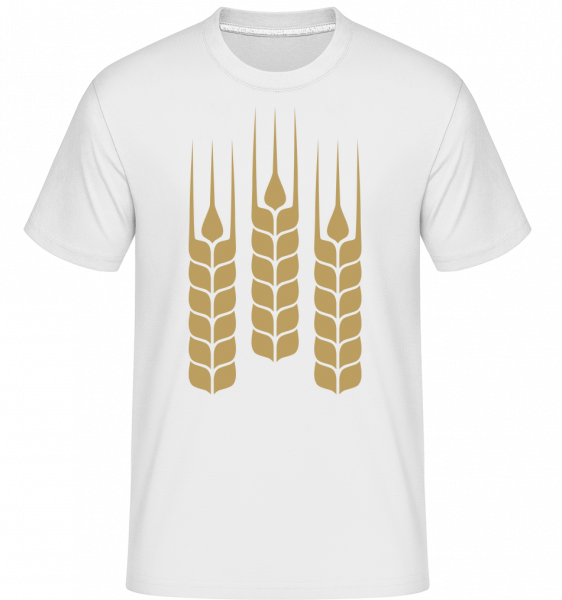 Fresh Wheat - Shirtinator Men's T-Shirt - White - Vorn