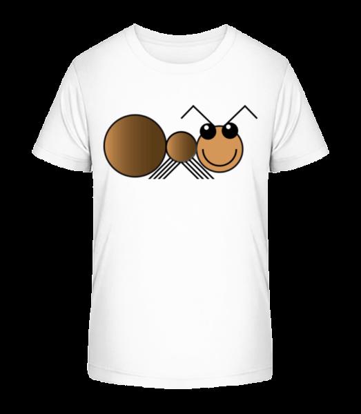Ant Comic - Kid's Premium Bio T-Shirt - White - Vorn