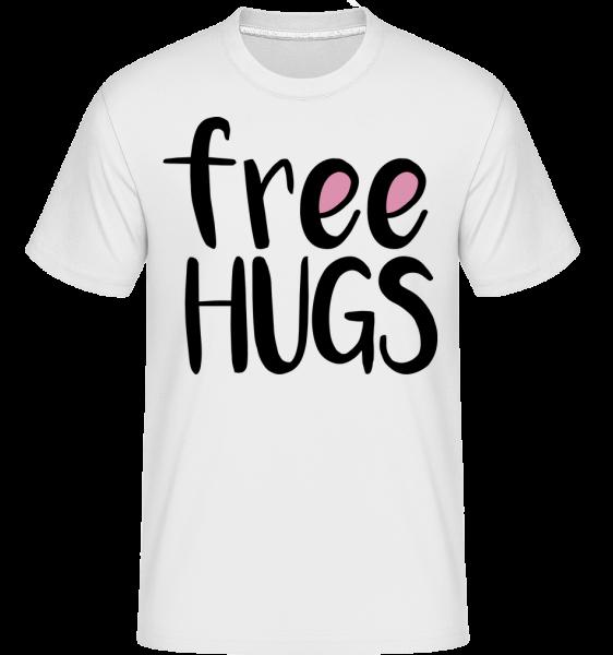 Free Hugs -  Shirtinator Men's T-Shirt - White - Vorn
