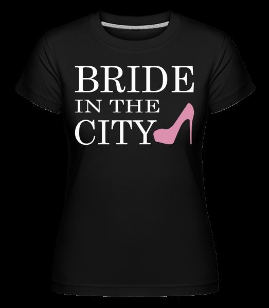 Bride In The City - Shirtinator Women's T-Shirt - Black - Vorn