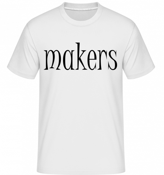 Trouble Makers Partner - Shirtinator Men's T-Shirt - White - Vorn