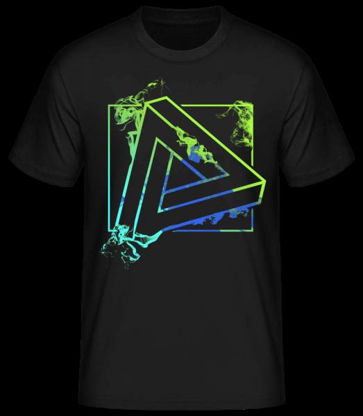 Impossible Triangle - Basic T-Shirt - Black - Vorn