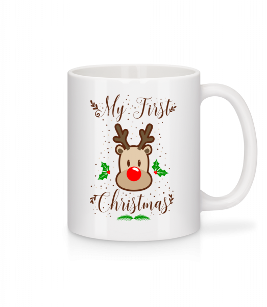My First Christmas - Mug - White - Vorn