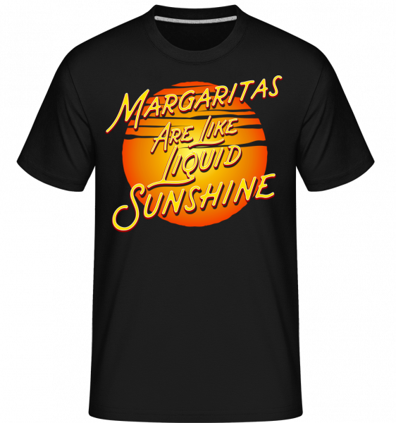 Margaritas Are Liquid Sunshine - Shirtinator Men's T-Shirt - Black - Vorn