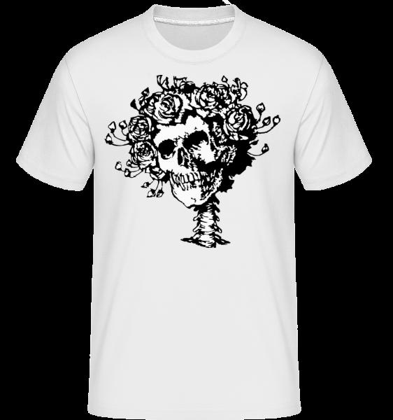 Skull Comic - Shirtinator Men's T-Shirt - White - Vorn