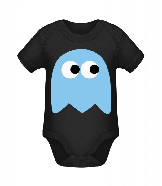 Computer Game Monster - Organic Baby Body - Black - Vorn
