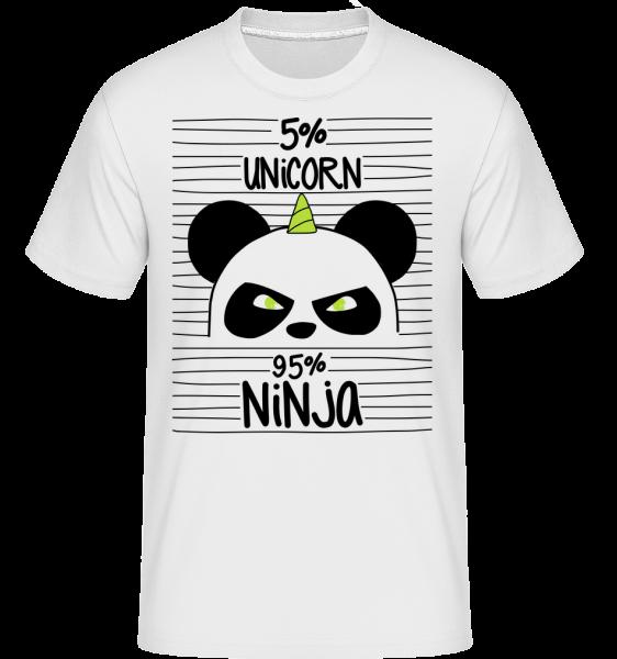 Unicorn Ninja -  Shirtinator Men's T-Shirt - White - Vorn