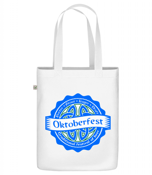 """Traditional Festival Of Beer - Organic """"Earth Positive"""" tote bag - White - Vorn"""