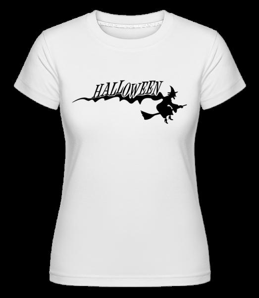 Halloween Witch -  Shirtinator Women's T-Shirt - White - Vorn