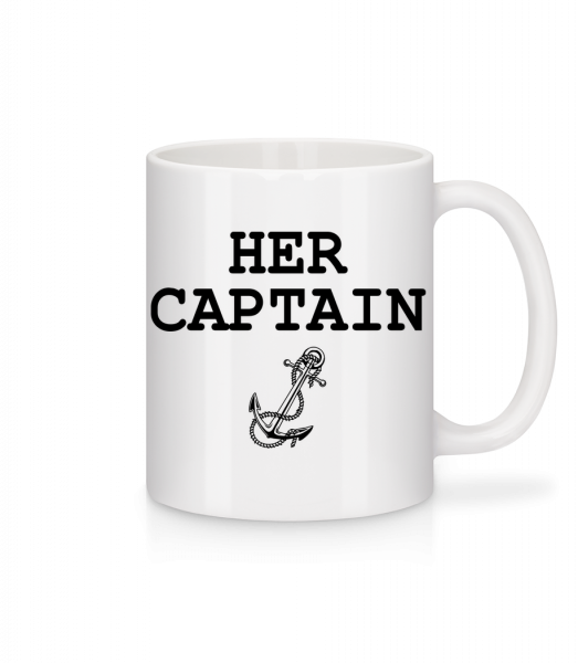 Her Captain - Mug - White - Vorn