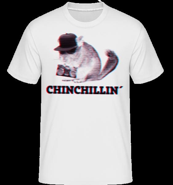 ChinChillin' -  Shirtinator Men's T-Shirt - White - Vorn