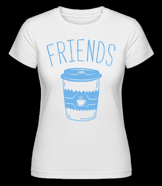 Friends Coffee - Shirtinator Women's T-Shirt - White - Vorn