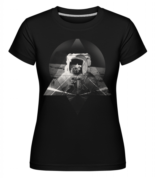 Astronaut -  Shirtinator Women's T-Shirt - Black - Vorn