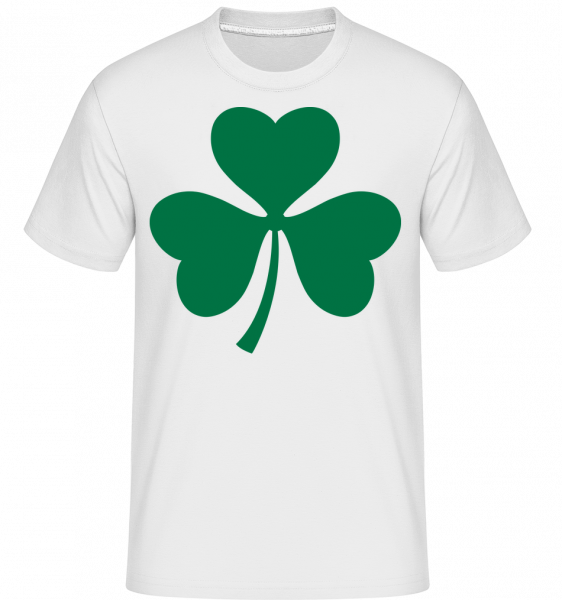 Ireland Cloverleaf -  Shirtinator Men's T-Shirt - White - Vorn