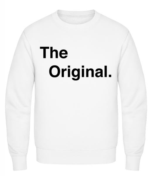 The Original - Classic Set-In Sweatshirt - White - Vorn