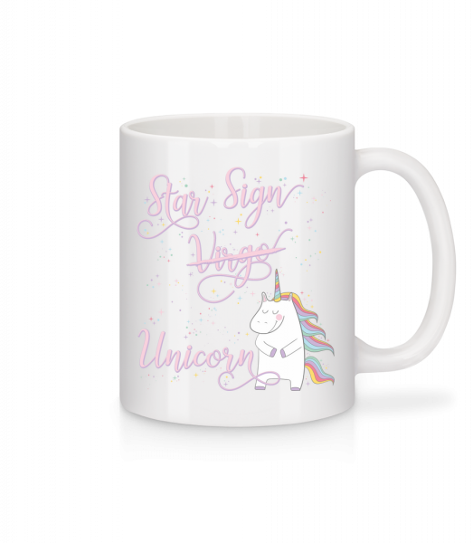 Star Sign Unicorn Virgo - Mug - White - Vorn