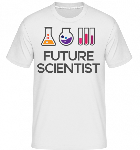 Future Scientist - Shirtinator Men's T-Shirt - White - Vorn
