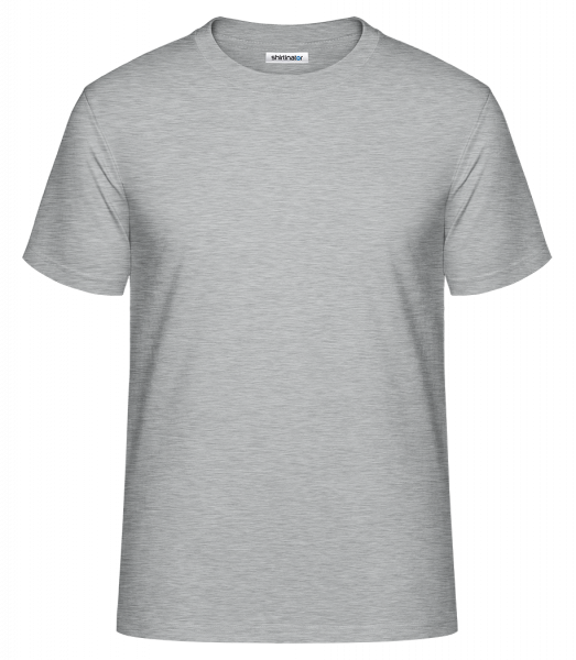 Men's Shirtinator Basic Shirt - Heather grey - Vorn
