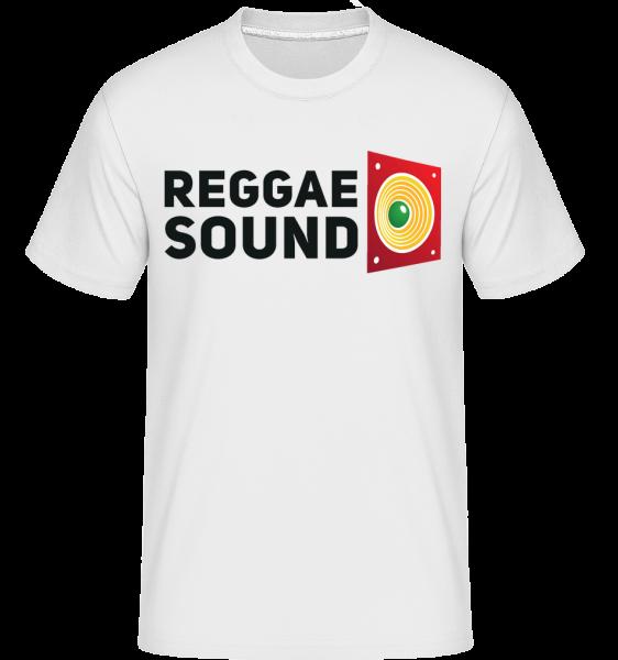 Reggae Sound -  Shirtinator Men's T-Shirt - White - Vorn