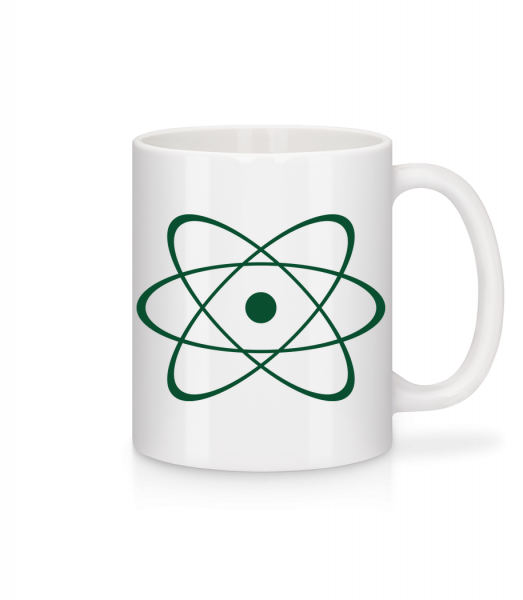 Symbol Of An Atom - Mug - White - Vorn