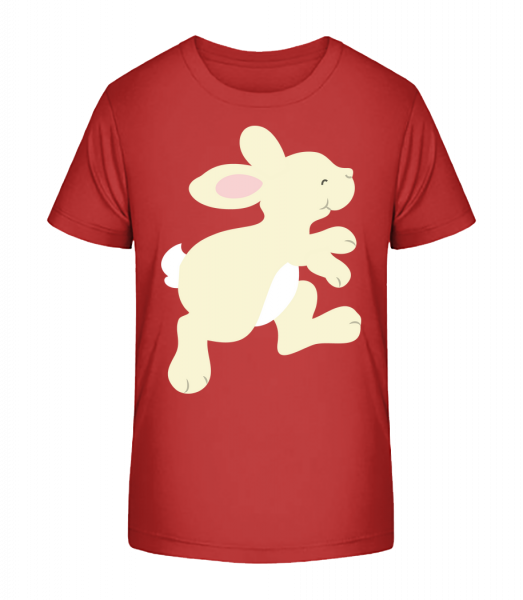 Kids Comic - Rabbit - Kid's Premium Bio T-Shirt - Cherry - Vorn