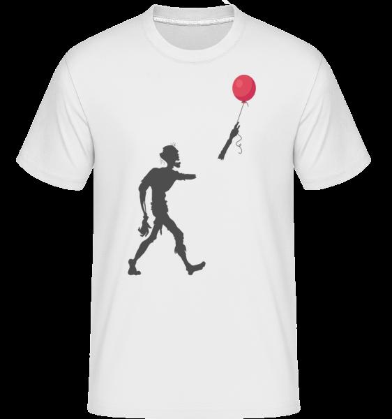 Zombie Balloon - Shirtinator Men's T-Shirt - White - Vorn