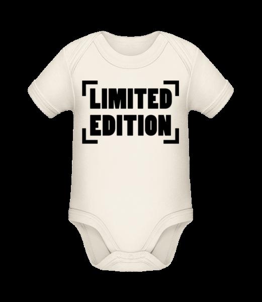 Limited Edition Logo - Organic Baby Body - Cream - Vorn