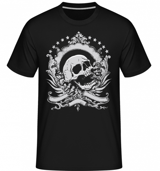 Skull Logo - Shirtinator Men's T-Shirt - Black - Vorn