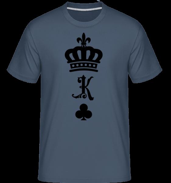 King Crown -  Shirtinator Men's T-Shirt - Denim - Vorn