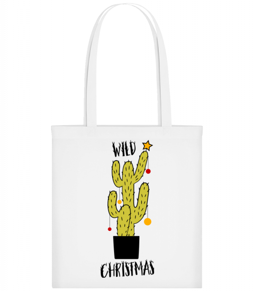 Wild Christmas - Carrier Bag - White - Vorn