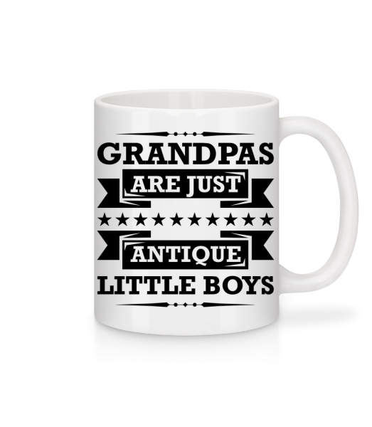 Grandpa's Antique - Mug - White - Vorn