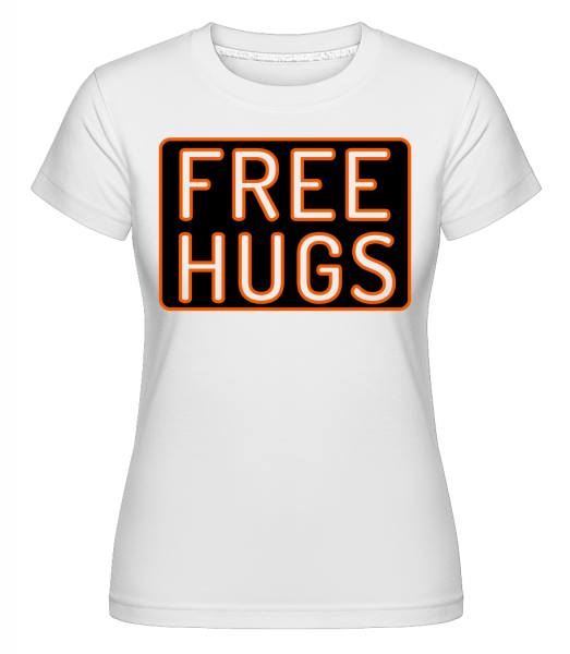 Free Hugs -  Shirtinator Women's T-Shirt - White - Vorn